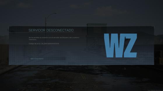 Call of Duty Warzone: Problemas de conexión, servidores caídos, CoD, ¿Qué hago para solucionarlo?