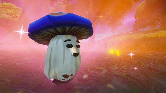 Fortnite: A Epic se le cuela antes de tiempo Bud the Mushroom ¡Una mascota que da escudo ilimitado!