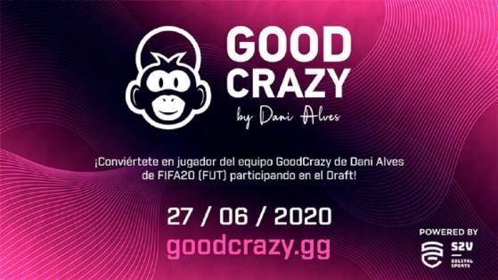 FIFA: Dani Alves busca su crack de los esports para GoodCrazy en un torneo de FIFA