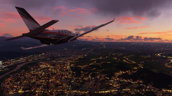 Microsoft Flight Simulator es siempre espectacular - Millenium