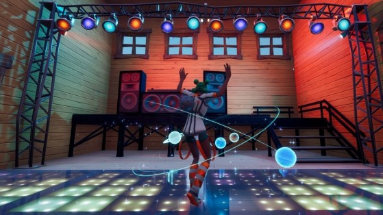 Fortnite: Baila en la pista de baile de Apres Ski durante 10 segundos, Semana 10, temporada 3