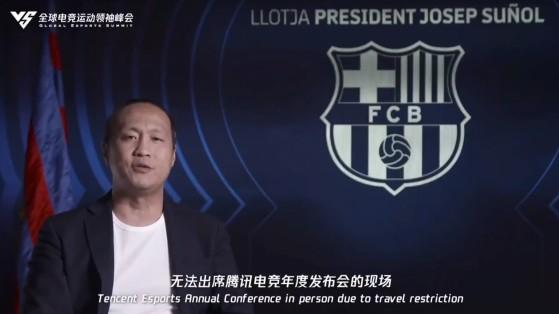 F.C. Barcelona se asocia con Tencent Esports: ¿Franquicia del Barça en el LoL a la vista?