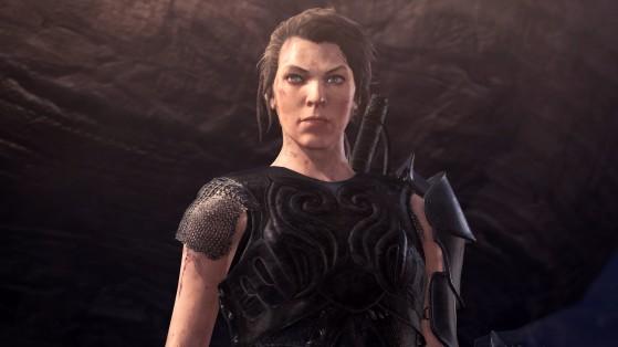 Milla Jovovich se une a Monster Hunter World en una colaboración del juego con la película
