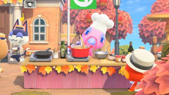 Animal Crossing New Horizons: Guía completa del evento del Día del Pavo, recetas y más