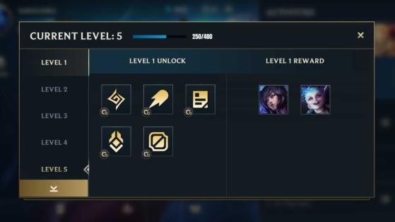 Subir de nivel es la mejor forma de desbloquear personajes - Wild Rift