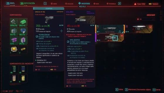 El desmantelamiento de objetos te permite conseguir componentes de forma gratuita - Cyberpunk 2077
