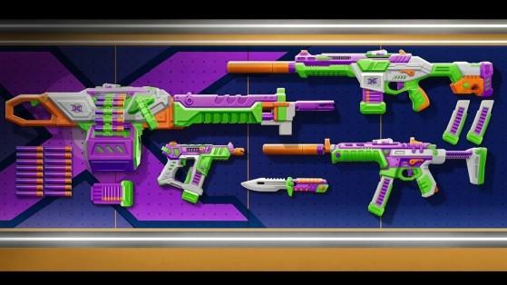 VALORANT: BlastX, las skins de juguete a lo Buzz Lightyear que te pedirás por Navidad
