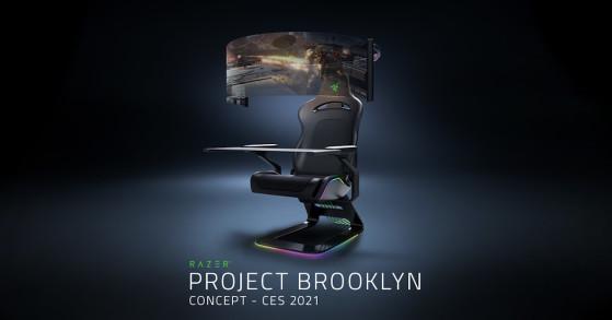 Razer presenta Project Brooklyn: una silla para gobernarlos a todos