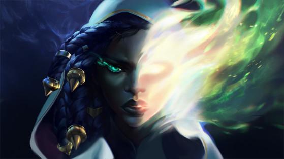 Ilustración de 'Las voces de los muertos'. - League of Legends