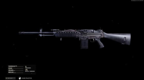 La clase y accesorios más chetados para la Stoner 63 en Black Ops Cold War