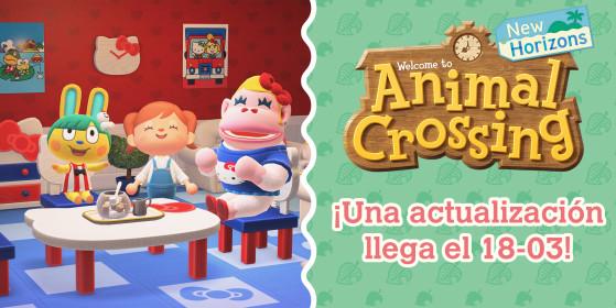 Vecinos, objetos y eventos debutan el 18 de marzo en Animal Crossing: New Horizons