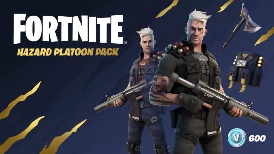 Fortnite: El Pack de Pelotón del Peligro ya está disponible, con la skin de Centurión y más