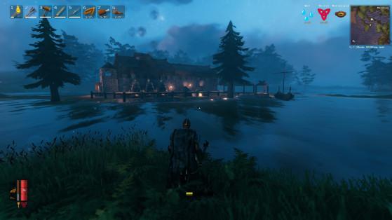 Valheim: Un jugador descubre cómo realizar construcciones bajo el agua