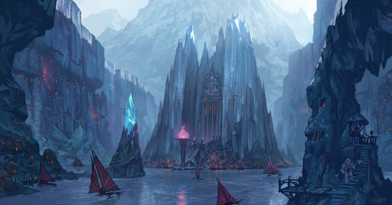 Rakelstake, una ciudad del Freljord - League of Legends