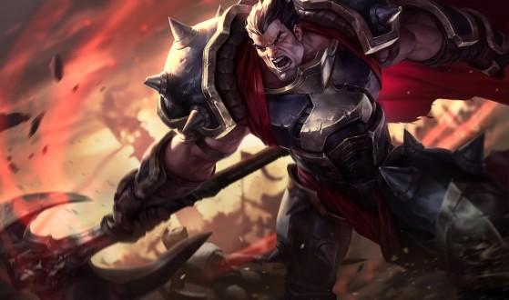 Gracias al cortasendas, campeones como Darius pueden valerse por sí mismos. - League of Legends