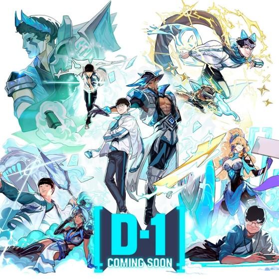 La ilustración de Riot Games Korea. - League of Legends
