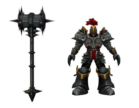 Un caballero oscuro al uso - League of Legends