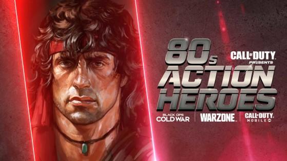 Warzone Cold War: Cómo desbloquear a Rambo y John McClane y ser un héroe de acción de los 80