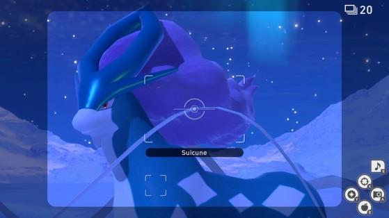 Suicune en New Pokémon Snap - Millenium