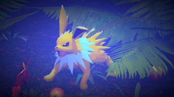 Jolteon en New Pokémon Snap - Millenium