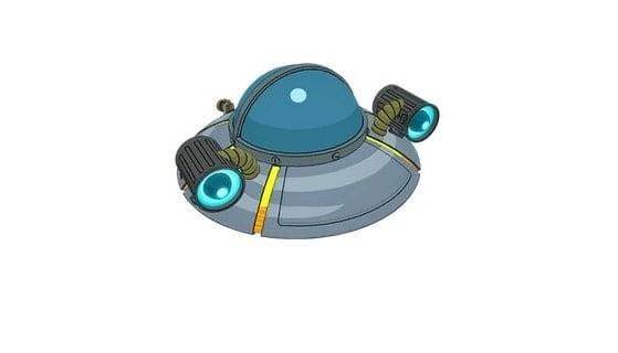Nave espacial de Rick (ala delta) - Fortnite : Battle royale