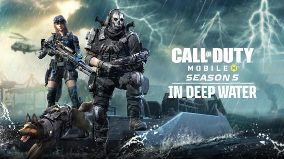 CoD Mobile: Notas del parche de la temporada 5 con todas las novedades; armas, mapas, modos y más