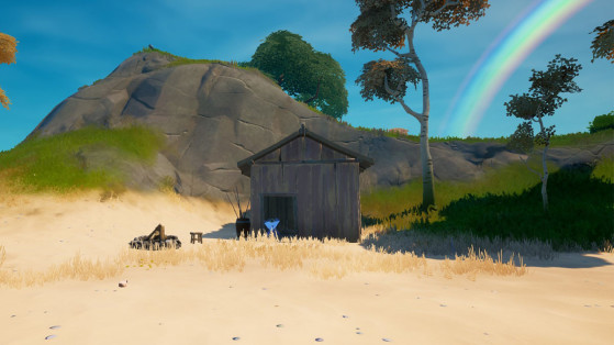Fortnite: Construye un semillero criadero de madera, desafío Semana 7, temporada 7