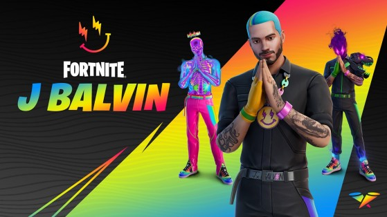 Fortnite: Copa J Balvin, fechas e información sobre la skin del popular cantante