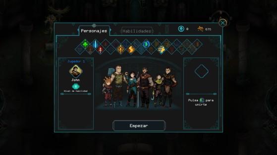 Hasta seis personajes jugables con sus características propias - Millenium