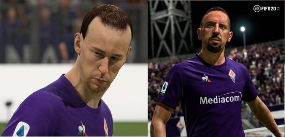 Ribéry consigue que cambien su cara en FIFA 20 junto con la de otros 36 jugadores
