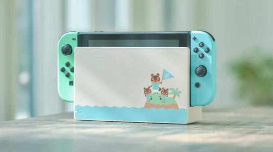 Animal Crossing: New Horizon llegará con una Nintendo Switch personalizada