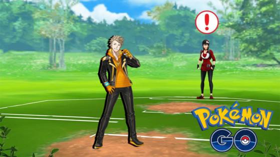 Pokémon GO PvP, combate contra Spark, entrenamiento