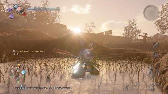 Este escenario en pleno arrozal mientras atardece es poco menos que precioso. - Millenium