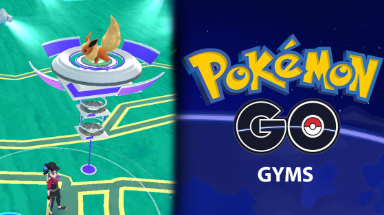 Gimnasios en Pokémon GO