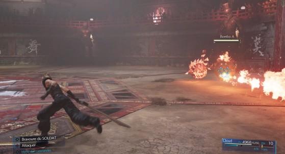 Los combates en difícil son mucho más exigentes - Final Fantasy 7 Remake