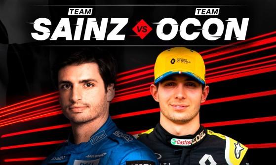 Simracing: Carlos Sainz y Esteban Ocón competirán en el GP Marca de GT Sport