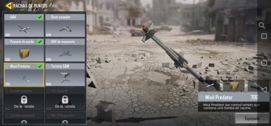 Call of Duty Mobile: Mejores rachas de puntos, scorestreaks para el multijugador
