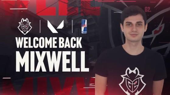 Valorant: Mixwell vuelve con Ocelote y ficha por G2 Esports