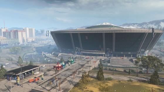 Call of Duty Warzone: El Estadio se abrirá en la temporada 5, junto con la llegada del tren
