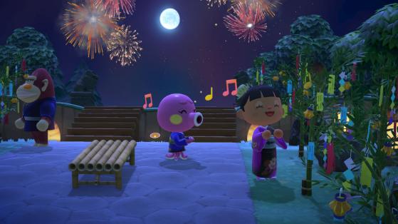 Animal Crossing New Horizons: llegan los fuegos artificiales y más en la actualización de agosto