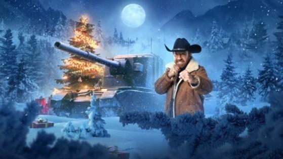 Chuck Norris protagoniza la campaña navideña de World of Tanks