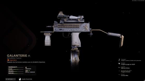 Gallardía, el arma más chetada del pase de batalla. - Call of Duty : Modern Warfare