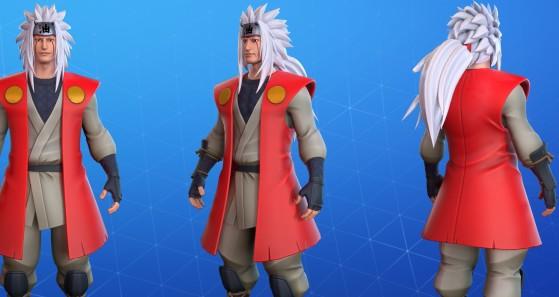 Fortnite: Así sería el maestro de Naruto en el juego. ¡Un artista acaba de pasar por encima a Epic!