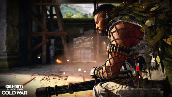 Minigun. - Call of Duty Warzone