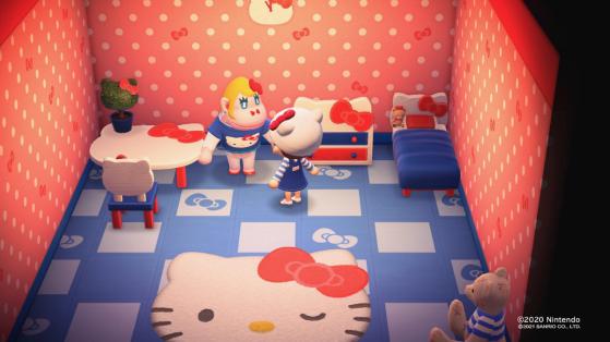 Animal Crossing New Horizons: Todos los muebles nuevos de Sanrio