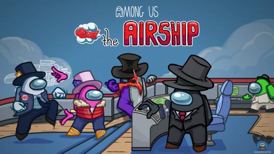 El mapa The Airship llega a Among Us el 31 de marzo junto a una nueva actualización
