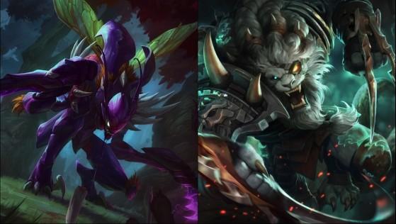 Ambos personajes protagonizan una de las mayores rivalidades del juego - League of Legends