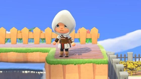 Animal Crossing New Horizons: Consigue gratis un traje de Assassin's Creed para ser el más molón