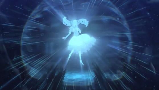 Aspecto humanoide de Gwen. - League of Legends