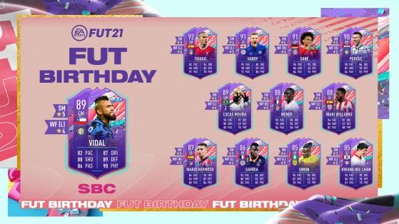 FIFA 21: Soluciones baratas al SBC Vidal FUT Birthday en Ultimate Team